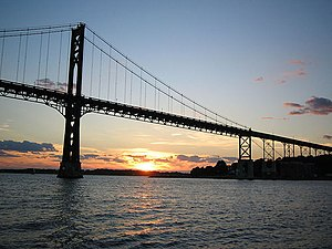 Mount Hope Bridge - Image: Mt Hope Bridge