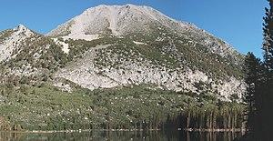 Mount Morgan (Mono County, California) - Mount Morgan from Davis Lake