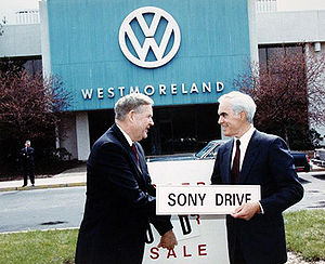 John Murtha - John Murtha with Governor Robert P. Casey.