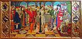 Musée du Louvre - Peinture espagnole - Salle 27 - Jaume Huguet - Flagellation - Ensemble.JPG