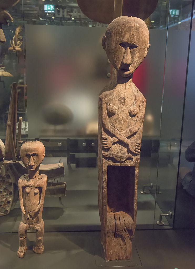 Museum Volkenkunde Leiden Werwat met dochter 01