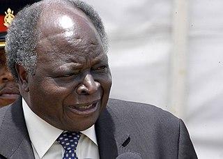 Mwai Kibaki 3rd President of Kenya (2002-2013)