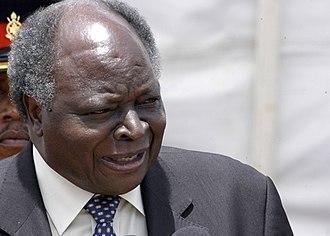 Mwai Kibaki - President Kibaki in 2005