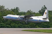 Myanmar Air Force Fokker F27 MRD
