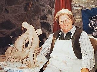 Myfanwy Kitchin British artist (1917-2002)