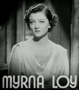 Loy in de trailer van Petticoat Fever (1936)