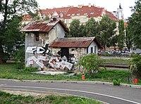 Nádraží Praha-Dejvice, vodárna, od jihovýchodu.jpg
