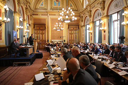 The Parliamentary Assembly meeting in London prior to the start of the 2014 Newport summit