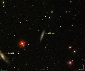 NGC 444 - Image taken by SDSS.