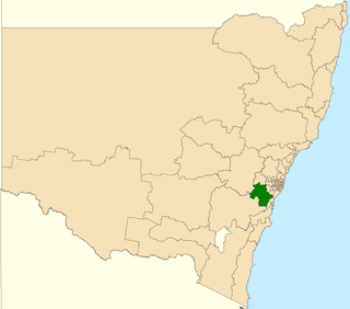 Electoral district of Wollondilly state electoral district of New South Wales, Australia
