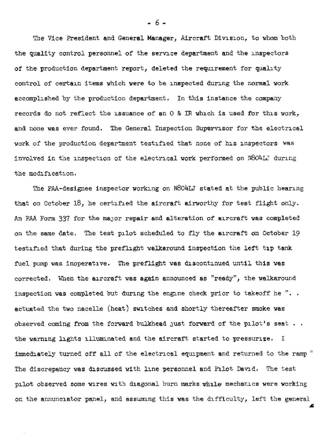 Page:NTSB Report, 1967 Lear Jet crash.pdf/9 - Wikisource, the free ...