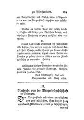 Nachricht von der Bürgerlesegesellschaft in Erlangen, S. 283-298