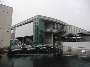 Nagao Station (Osaka) - Image: Nagaostation 2