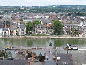 Walloon Government - The Élysette in Namur is the office building of the Walloon Minister-President