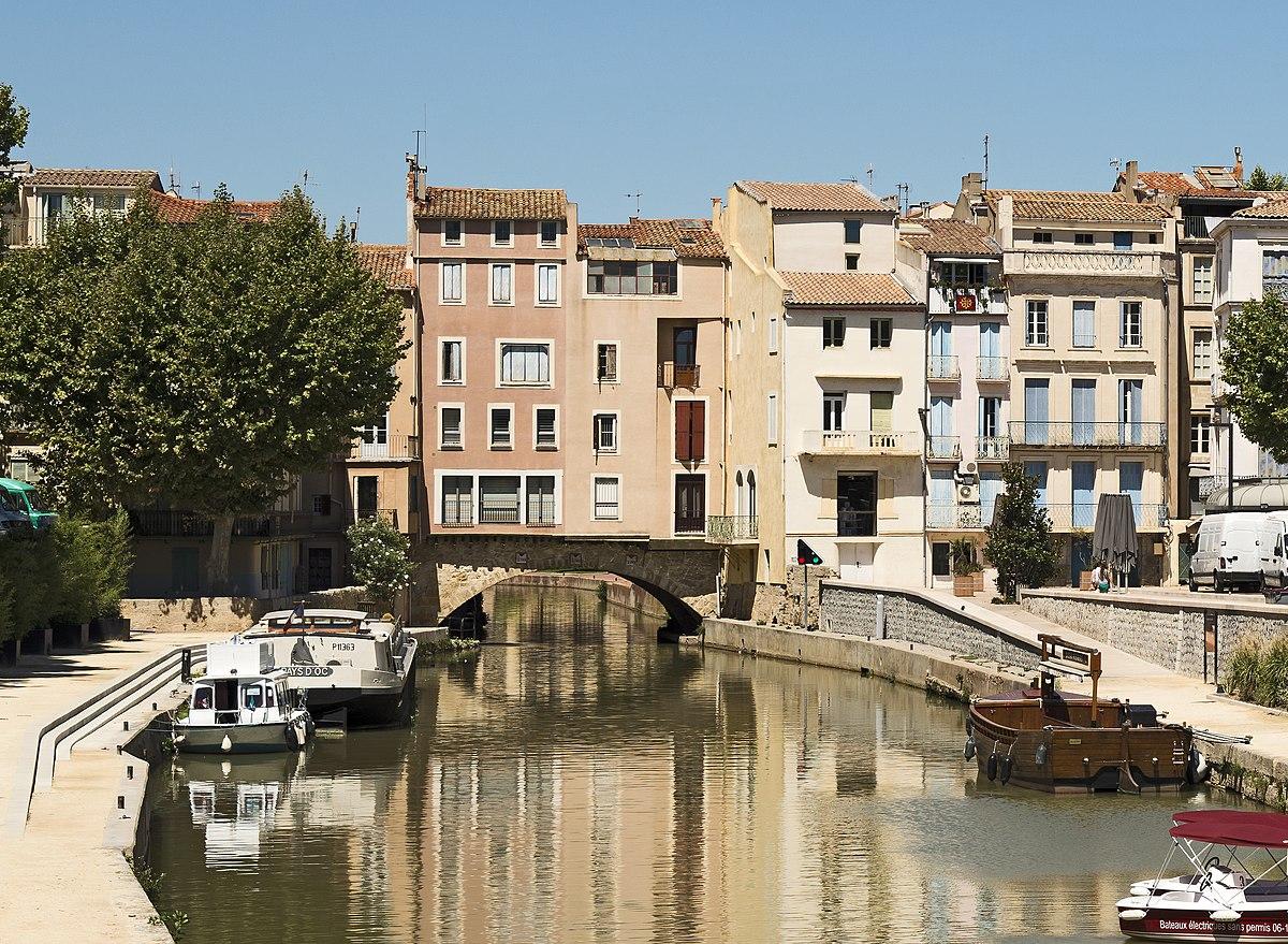Pont des marchands wikipedia for Piscine narbonne