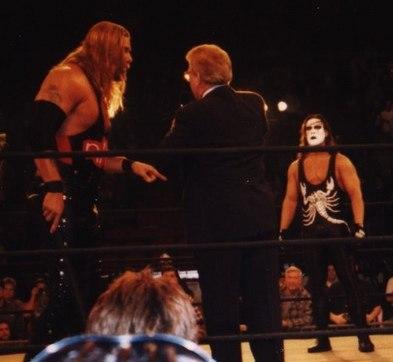 Sting Wrestler Howling Pixel