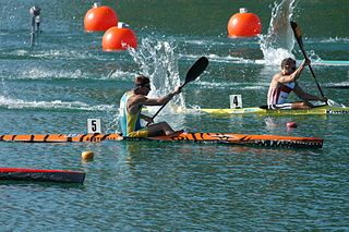 Nathan Baggaley Australian sprint canoeist and surfskier
