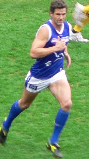 Nathan Thompson (Australian footballer) - Nathan Thompson playing for the Kangaroos during the 2006 AFL Season
