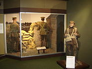 National Army Museum Battle of Mons display