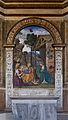 Nativité avec Saint Jérôme, Bernardino Pinturichio, 1488, cardinal Della Rovere, Piazza del Popolo, Rome, Italy.jpg