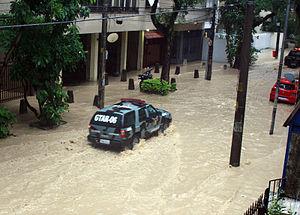 April 2010 Rio de Janeiro floods and mudslides - Image: Natural disasters in Rio de Janeiro