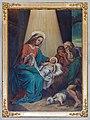 Neenstetten Ulrichskirche Südempore Bild 3 Geburt Jesu von Friedrich Dirr 2020 08 20.jpg
