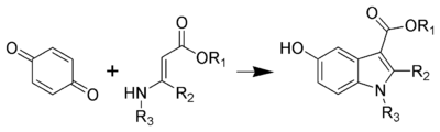 The Nenitzescu indole synthesis