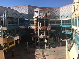 Neonopolis courtyard