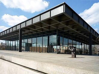 National Gallery (Berlin) - The second National Gallery building, the 1968 Neue Nationalgalerie