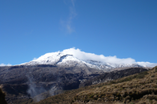 Nevado del Ruiz Volcanic mountain in Colombia
