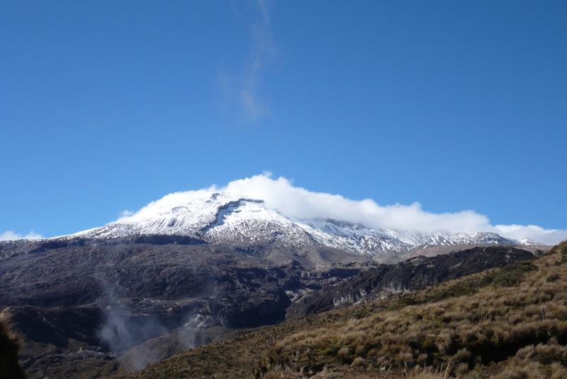 Vulcão na Colômbia