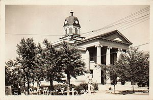Hampshire County, West Virginia - Image: New Hants County Courthouse