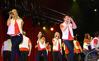 Don't Stop Believin' - Glee Cast performing the song during Glee Live! In Concert!