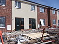 New houses under construction on Town Meadow Lane, Moreton (4).JPG