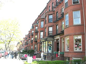 Newbury Street - Newbury Street's shopping district