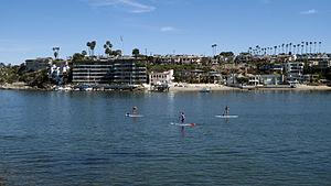Balboa Peninsula, Newport Beach - Image: Newport Beach california 5 march 9 2014 photo d ramey logan
