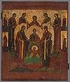 Neznámy autor - Ikona-Kristus Emanuel pred predvtelením - O 933 - Orava Gallery.jpg