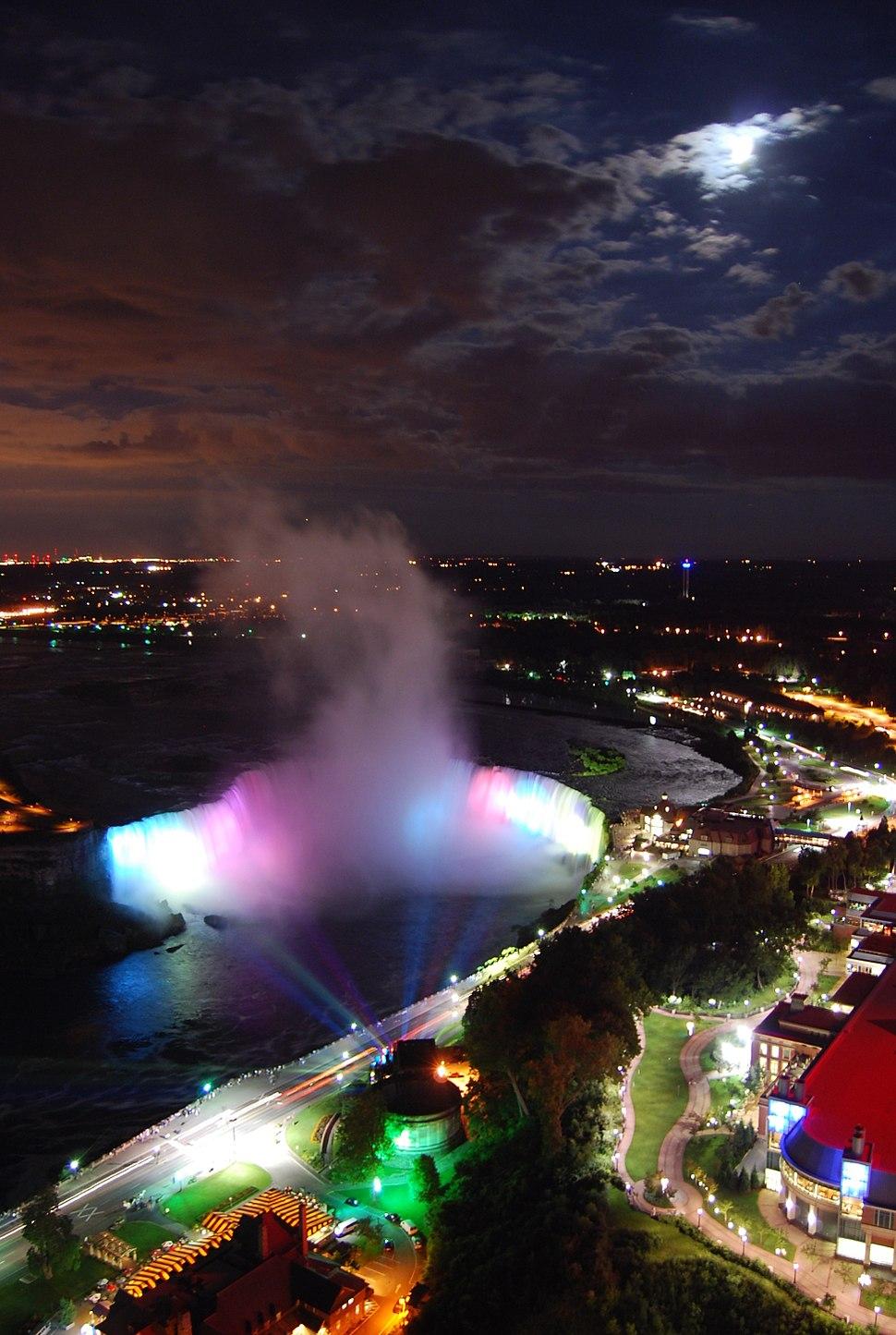 Niagara Falls at night1