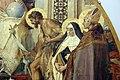 Niccolò barabino, cristo in trono tra maria e santi fiorentini, 1882-83, 03.JPG
