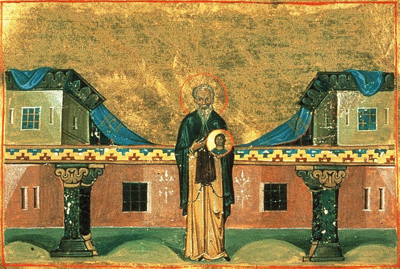 Niketas, miniatyr fra Basilios IIs Menologium