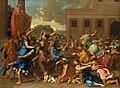 Nicolas Poussin - L'Enlèvement des Sabines (1634-5).jpg