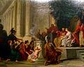 Nicolas René le Jeune Jollain, Pyrrhus enfant présenté à Glaucias.jpg