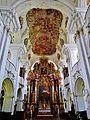 Niederaltaich Klosterbasilika St. Nikolaus Innen Chor 1.JPG
