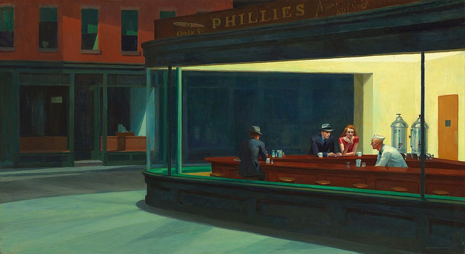 Nighthawks by Edward Hopper 1942.jpg
