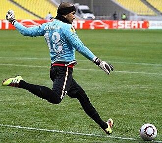 Nikolay Mihaylov - Mihaylov playing for FC Twente.
