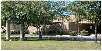 Nimitz High School (Harris County, Texas) - Image: Nimitzhighschool 1