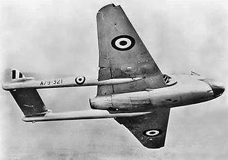 No. 2 Operational Conversion Unit RAAF - No. 2 OCU Vampire during the 1950s