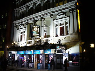 Harold Pinter - No Man's Land revival at Duke of York's Theatre, 30 December 2008