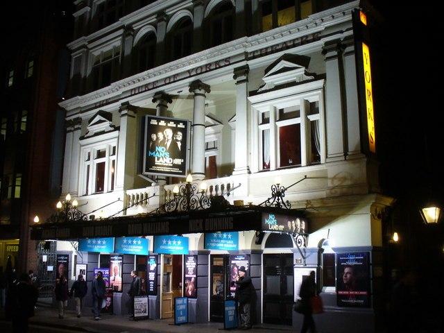 No Mans Land Harold Pinter Duke of Yorks Theatre London