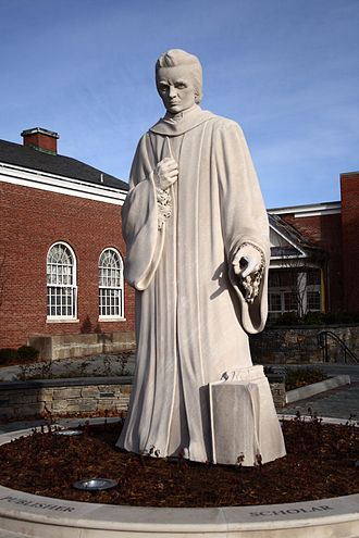 Noah Webster - A 1932 statue of Webster by Korczak Ziółkowski stands in front of the public library of West Hartford, Connecticut.